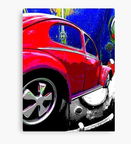 Patina Beetle Canvas Print