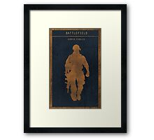 Battlefield 3 gaming poster Framed Print