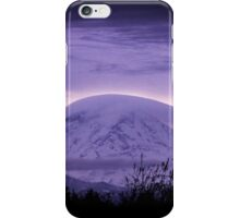Mt Rainier in the early morning iPhone Case/Skin