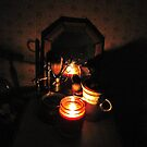 Shaving By Candle lite by trueblvr