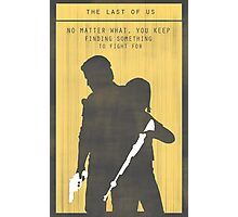 The Last Of Us Gaming Poster Photographic Print