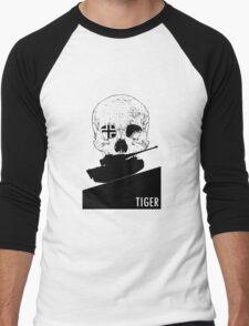 Tiger Mark 1E - Black Men's Baseball ¾ T-Shirt