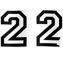 Twenty Two Poster