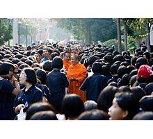 Supanaburi Monks, Thailand Photographic Print