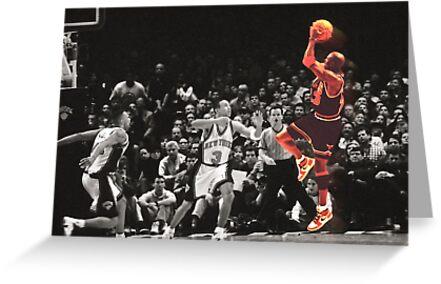 Michael Jordan vs NY Knicks by Jaime Martorano