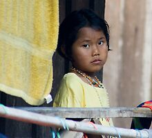 Hill Tribe Village Child, Thailand by Andrew Wilson