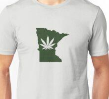 Marijuana Leaf Minnesota Unisex T-Shirt
