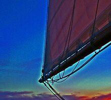The Adirondack II, luft sail by Kenric A. Prescott