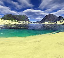 Terragen Beachfront by Matt Tollenaar