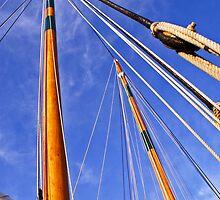 Masts of the Adirondack II by Kenric A. Prescott