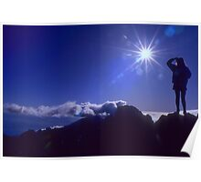 Top of the World, Hawaii Poster