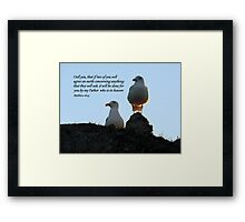 Two Agree Framed Print