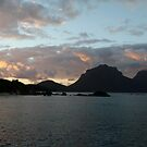 Dawn Breaking over Lord Howe Island by Robert Stephens