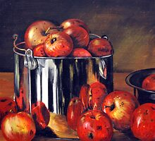Let's Cook Some Apples by Lucia Szymanik by CoastalCarolina