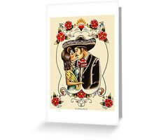 Mexican Couple Greeting Card