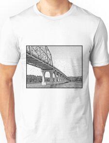 Bridge To Wisconsin Unisex T-Shirt