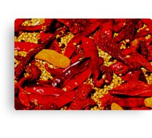 Red Hot! Canvas Print