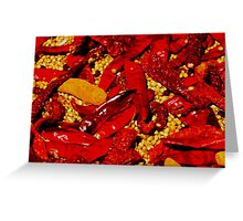 Red Hot! Greeting Card