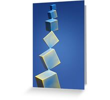 Squareway to Heaven Greeting Card