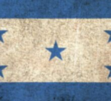Old and Worn Distressed Vintage Flag of Honduras Sticker