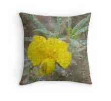 Photo Impression :: Yellow Apophysis Throw Pillow