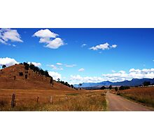Country Road - Rosevale Photographic Print