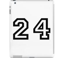 Twenty Four iPad Case/Skin