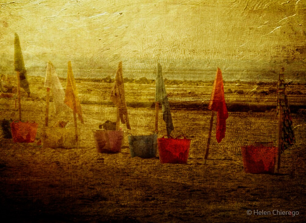 Flags and Buckets by © Helen Chierego