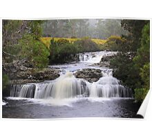 The Falls near Cradle Mountain Lodge Poster