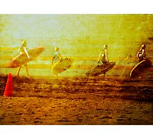 Surf Lifesaving Girls Photographic Print