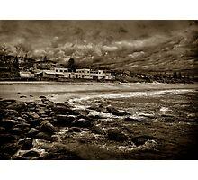 Curl Curl Beach in Sepia Photographic Print