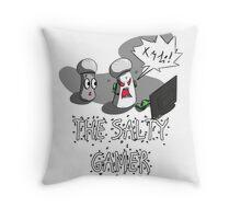 The Salty Gamer Throw Pillow