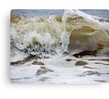 Waves. 1 Canvas Print
