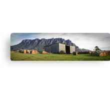 Hayshed on the Hill Canvas Print