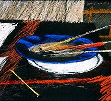 Pinsel und Stift by HannaAschenbach