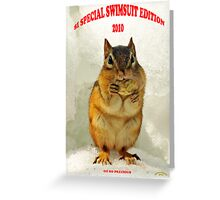 Episode 9 - SI Swimsuit 2010 Arrives Greeting Card