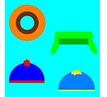 South Park Minimalist Photographic Print
