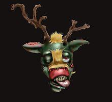 zombie rudolph by yvonne willemsen