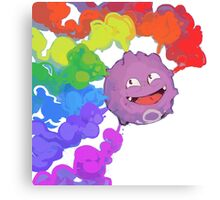 Koffing supports equality Canvas Print