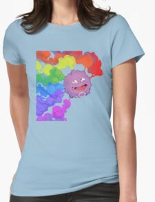 Koffing supports equality Womens Fitted T-Shirt