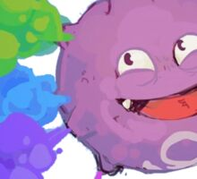 Koffing supports equality Sticker