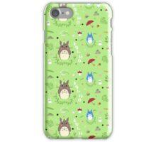 Ghibli Totoro Pattern iPhone Case/Skin