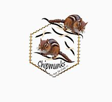 Wee Little Chipmunks. Unisex T-Shirt