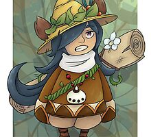 Fantasy Life forest protector Pino by Geckospine