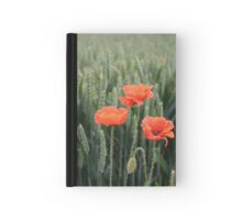 Poppies. Hardcover Journal