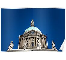 Custom House Dome Poster