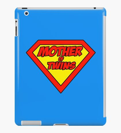 Super mom Mother of Twins iPad Case/Skin