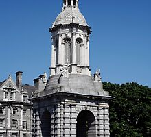 Campanile at Trinity College by Joe  Burns