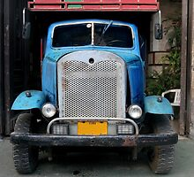 Vintage Ford Truck by Joe  Burns