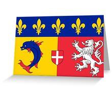 Rhône-Alpes Greeting Card